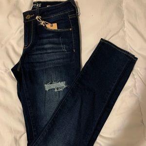 Empyre Tessa Dark Wash Skinny Jeans